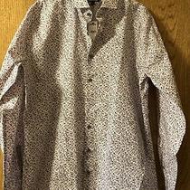 Express Men's Long Sleeved Shirt Extra Slim Size L 15-161/2 Nwt Photo