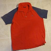 Express Men's Polo Red Size Large Photo