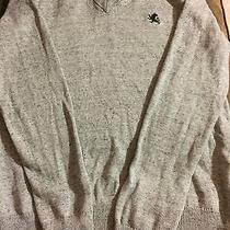 Express Men's Sweater Gray Size Small Photo