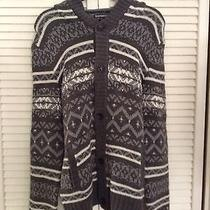 Express Men's Sweater With Hoodie Size M Photo