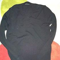 Express Mens Black v-Neck Sweater Photo