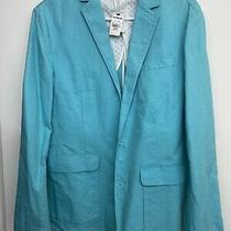 Express Mens Blazer Size Xs Turquoise  Photo