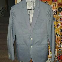 Express Mens Blue Blazer Photo