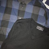 Express Mens Button Up & Wool Sweater Small Photo