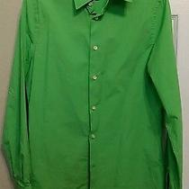 Express Mens Fitted Dress Shirt Size S Photo