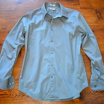 Express Mens Fitted Stretch Cotton1mx  Dress Shirt Photo