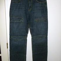 Express Mens Jeans 34x34 Express Structure Vguc - Dark Donation 2 Sandy Hook Photo