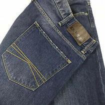Express Mens Jeans Blake Loose Fit Straight Leg Sz 38x34 (Measures 39x33) Photo