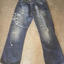Express Mens Jeans Distressed 32x30 Boot Cut Photo