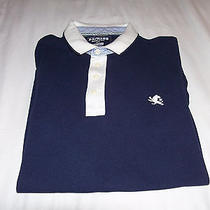Express Mens Pique Polo Fitted Size M Photo