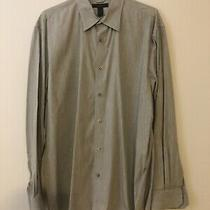 Express Mens Preowned Long Sleeve Shirt Size Xxl Grey Color Photo