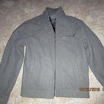 Express Mens Size Small Gray Wool Jacket Photo