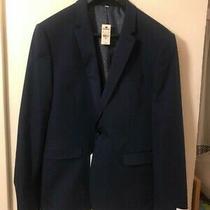Express   Mens Sport Coat Jacket Blazer Extra Slim Sz 44r Rt 175 Photo