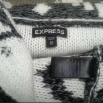 Express Merino Wool Sweater Shrug Roomy Xs Cardigan Photo