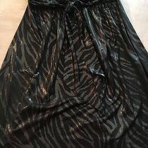 Express Metallic Strapless Club Wear Dress Photo