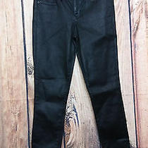 Express Mid-Rise Ankle Legging Pants Black Size 0r  Photo