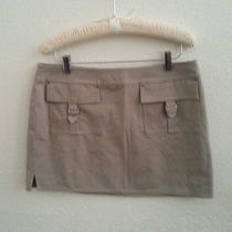 Express Mini Skirt in Taupe Size 10 Photo