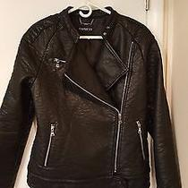 Express (Minus The) Leather Motorcycle Jacket M Photo