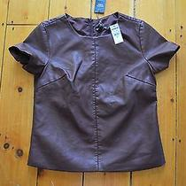 Express (Minus The) Leather Shirt Size S/p Nwt Photo