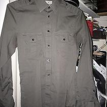 Express Mk2 Modern Fit Military-Style Slim Fitted Shirt Photo