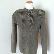 Express New Ribbed Man's Sweater Size L  Photo