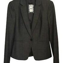 Express Notch Collar One Button Blazer Size 4 Photo