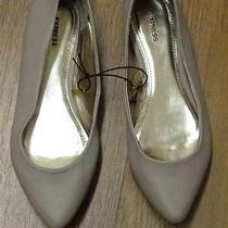 Express Nude Blush Pointed Flats Sz 10 Photo