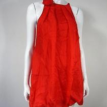 Express Nwt 100% Silk Sleeveless Dress Size S Red  Photo