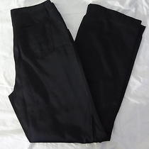 Express Nylon Cotton Black Khaki Chino Casual Dress Work Pants Slacks Ladies 5/6 Photo
