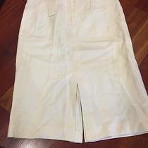 Express Off White Skirt Size 1/2  Photo