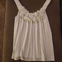 Express Off White Sleevless Top S/p Photo