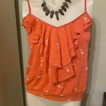 Express Orange Top  Size S Photo