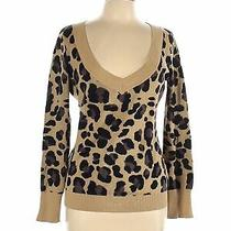 Express Outlet Women Brown Pullover Sweater L Photo