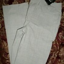Express Pants Gray Grey High Waisted Size 8 Regular New Nwt  Photo