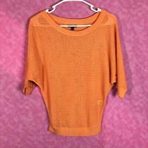 Express Peach Sweater Blouse Size Xs Photo
