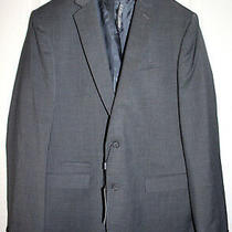 Express Photographer Fitted Mens 44l Suit Jacket Gray Blazer Sport Coat 248 Nwt Photo