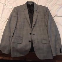 Express Photographer Gray Fitted Suit Jacket Blazer Nwot Size 38 Short Photo