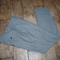 Express Photographer Light Gray Dress Pants Slacks. Men's 34 X 33 Cotton Blend Photo