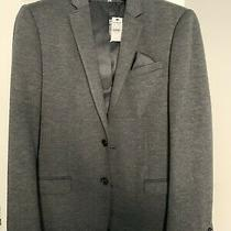 Express Photographer Suit Jacket Fitted 40r Emh-4377 Brand New 198.00 With Tags Photo