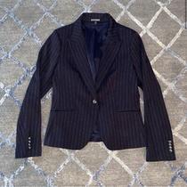 Express Pin Stripe One Button Blazer Size 12 Photo