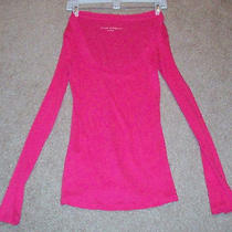 Express Pink Sexy Basic Scoop-Neck Tee Size Medium Guc Free Shipping Photo