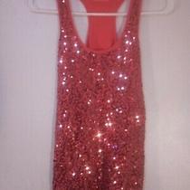 Express Pink Sleeveless Top Size Small Photo