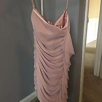 Express Pink Strapless Dress Size 0 Brand New Photo