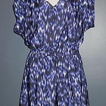 Express Polyester Purple Blouson Dress Size M Longer on Back / Great W/ Leggings Photo