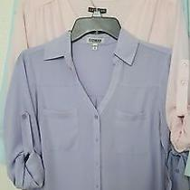 Express Portofino Shirts Lot  Beautiful Colors Photo
