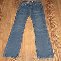 Express Precision Fit Boy Fit Distressed Jeans Size 2 R Photo