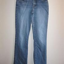 Express Precision Fit 'Fit & Flare' Stretch Denim Jeans  7/8 Photo