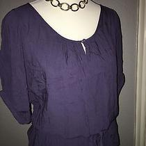 Express Purple Blouse Size S Small Career Top Work Photo