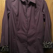 Express Purple Shirt L Photo
