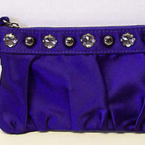Express Purple / Violet  Wristlet Clutch Jewels & Studs Purse Handbag Photo